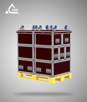 ALP_FLIGHTCASES Kit SKL 1200/ 800, 12 modules