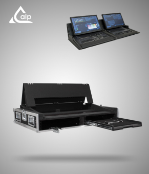 Flight case INFINITY Chimp 100, Banana wing, 2 écrans, MATOUKER Fly case for fNFINITY Chimp 100, Banana wing, 2 screens