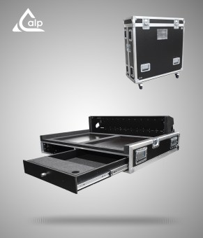 Flight case pour console DIGICO SC 48 version touring
