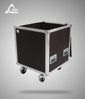 Flight case type malle de transport renforcé Speedy Box 600