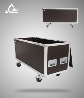 Flight case type malle de transport renforcé Speedy Box 800