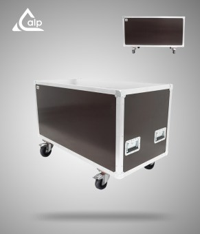 Flight case type malle de transport renforcé Speedy Box 1200/ 600