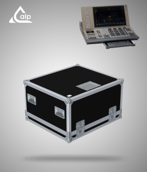 Flight case pour console ETC GIO @5 version touring