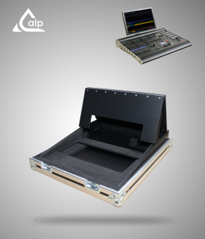 Flight case pour console ZERO 88 Solution Lightdesk