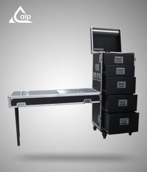 ALP FLIGHT CASES tool tournée Black M