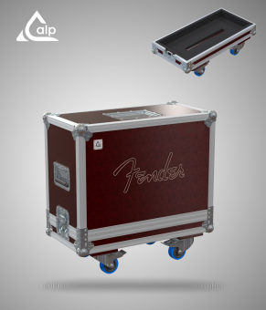 Flight case pour ampli FENDER 68 Custom Princeton Reverb