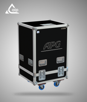 Flight case pour stack de 4 boites APG UC 206 N