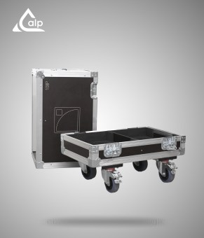 Flight case pour 2 enceintes L-Acoustics 108 P version standard