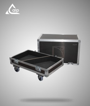 Flight case pour 2 enceintes L-Acoustics 112 P version standard
