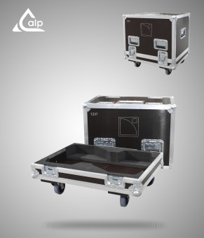Flight case pour 2 enceintes L-Acoustics 12 XT version touring