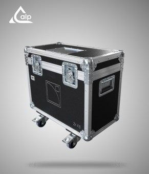 Flight case pour 2 enceintes L-Acoustics X8 version touring