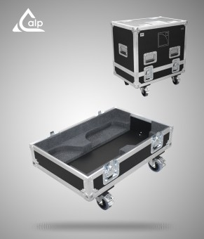 Flight case pour 2 enceintes L-Acoustics X15 HIQ version touring