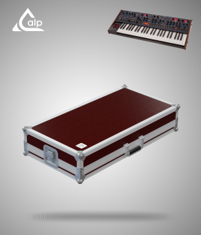 Flight case pour clavier Dave Smith OB-6 version standard