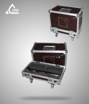 Flight case pour 2 enceintes L-Acoustics 8 XT version touring