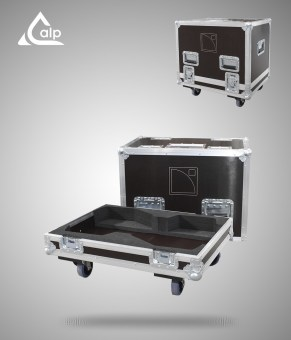 Flight case pour 2 enceintes L-Acoustics MTD 112 version touring