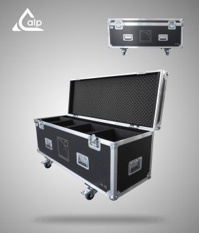 Flight case pour 4 enceintes L-Acoustics X8 version touring