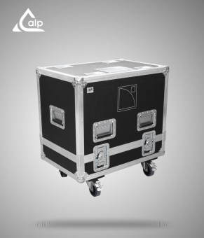 Flight case pour 2 enceintes L-Acoustics 115 HIQ version touring