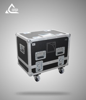 Flight case pour 2 enceintes L-Acoustics X12 version touring