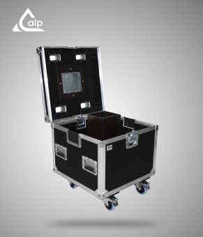 Flight case type malle de transport pour multipaire MTR 600
