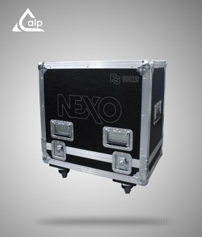 Flight case pour 2 X PS 10 NEXO R2 version touring
