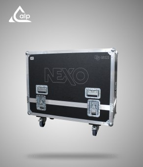 Flight case pour 2 X PS 15 NEXO R2 version touring