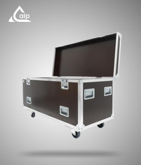 Flight case type malle de transport TRANSPRO 1400