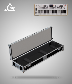 Flight case pour clavier MOOG SUBSEQUENT 37 + TOUCHE version touring