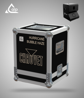 Flight case pour 1 Hurricane Bubble Haze CHAUVET Fly case for 1 CHAUVET Hurricane Bubble Haze