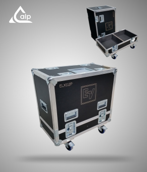 Flight case pour 2 enceintes ELECTRO VOICE ELX 112P version touring Fly case for 2 speakers ELECTRO VOICE ELX 112P