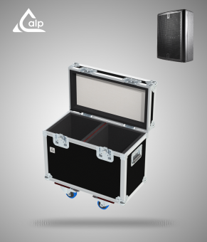 Flight case pour 2 enceintes MDC MDC8 Fly case for 2 speakers MDC MDC8