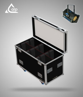 Flight case pour 6 PC ADB C101 version touring