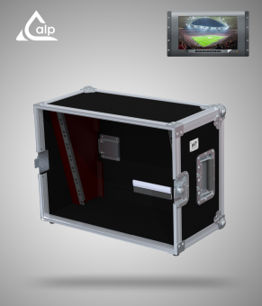 Flight case pour moniteur Blackmagic SmartView 4K