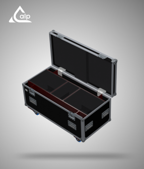 Flight case pour 2 kit BOSE L1 version touring