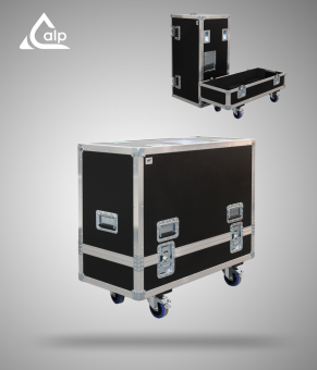 Flight case pour 2 wedges ELECTRO VOICE PXM 12MP version touring Fly case for 2 speakers ELECTRO VOICE PXM 12MP