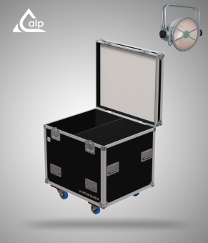 Flight case pour 2 VINTAGE BLAZE 55 Showtec version touring Fly case for 2 VINTAGE BLAZE 55 Showtec