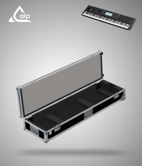 Flight case pour clavier Yamaha MODX7 version touring Fly case for keyboard  Yamaha MODX7