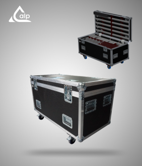 Flight case pour cache régie Showtec version touring