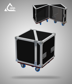 Flight case pour 2 enceintes L-Acoustics X15 version P4 Fly case for 2 speakers L-Acoustics X15