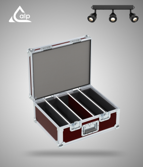 Flight case pour 4 EZ BAR CHAUVET