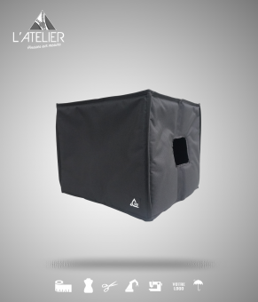 Housse de protection type cover pour enceinte L-Acoustics SB 15P Cover for SUB L-Acoustics SB 15P