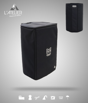 Housse de protection type cover pour enceinte MARTIN AUDIO Blackline X15 Cover for speaker MARTIN AUDIO Blackline X15