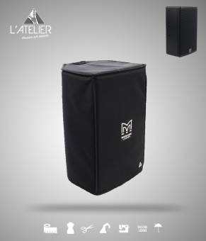 Housse de protection type cover pour enceinte MARTIN AUDIO Blackline X8  Cover for speaker MARTIN AUDIO Blackline X8