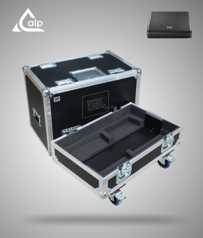 Flight case pour deux enceintes JBL VTX 22M version touring Fly case for 2 speakers  JBL VTX 22M