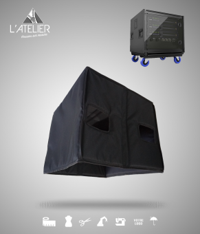 Housse de protection type cover pour LA RACK II L-Acoustics Cover for LA RACK II L-Acoustics