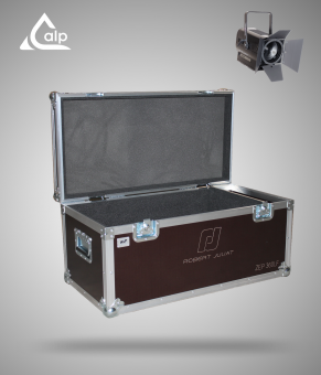 Flight case pour 1 PC ROBERT JULIA ZEP 360LF  version touring, bac à accessoires  Fly case for 1 ROBERT JULIA ZEP 360LF