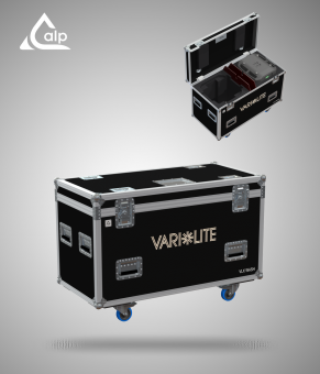 Flight case pour 2 automatiques VARI LITE VLX wash version touring Fly case for 2 VARI LITE  VLX wash